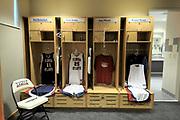 FAU Women's Basketball Locker Room