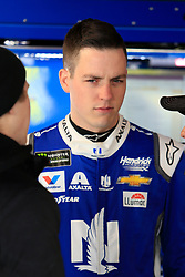 March 23, 2019 - Martinsville, VA, U.S. - MARTINSVILLE, VA - MARCH 23:  #88: Alex Bowman, Hendrick Motorsports, Chevrolet Camaro Nationwide looks on during practice for the STP 500 Monster Energy NASCAR Cup Series race on March 23, 2019 at the Martinsville Speedway in Martinsville, VA.  (Photo by David J. Griffin/Icon Sportswire) (Credit Image: © David J. Griffin/Icon SMI via ZUMA Press)