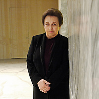 Shirin Ebadi, essayist, former President of the Court of Tehran, first Iranian woman to become member of the Supreme Court, removed from positions in 1979 with advent of Islamic revolution. After downgrading to Chancellor asked for early retirement and holds the license of lawyer. In this capacity she defended many opponents of the Iranian regime. First Muslim woman to receive the Nobel Peace Prize in 2003.<br /> 18th October 2011<br /> <br /> Photograph by Rino Bianchi/Writer Pictures<br /> <br /> WORLD RIGHTS - NO ITALY