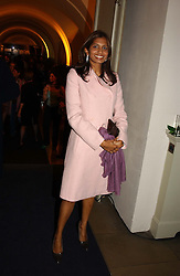 DIVIA LALVANI<br /><br />at a party to celebrate the 10th anniversary of Jo Malone the perfumer held at The Banquetting House, Whitehall, London on 21st October 2004.<br /><br /><br /><br />NON EXCLUSIVE - WORLD RIGHTS