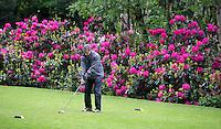 HERKENBOSCH- Tee hole 10 , Golfbaan Herkenbosch bij Roermond. FOTO KOEN SUYK