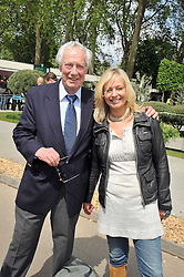 BARRY NORMAN and his daughter SAMANTHA NORMAN at the RHS Chelsea Flower Show 2009 held inthe gardens of the Royal Hospital Chelsea on 18th May 2009.