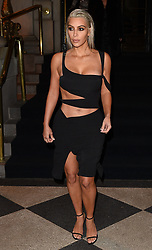 Kim Kardashian is seen leaving the Park Plaza hotel in New York and going to the Public Hotel<br /><br />7 September 2017.<br /><br />Please byline: Vantagenews.com