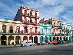 Old Havana, Cuba. Havana vieja, street.
