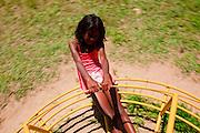 Campinas_SP, Brasil...PROJETO SAPECA, voltado para a reinsercao e acolhimento familiar de menores com violacao dos direitos do ECA. Na Foto, garota que passou pelo acolhimento familiar e retornou para a familia...PROJECT SAPECA, aimed at reintegration for children in violation of the rights of the ECA. In the photo, a girl went through foster care and returned to the family...Foto: BRUNO MAGALHAES / NITRO