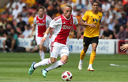 Ajax's Noa Lang during a pre season friendly match at the Banks's Stadium, Walsall.