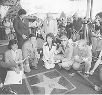 1977 Eydie Gorme and Steve Lawrence's Walk of Fame ceremony