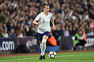 Lucia Bronze (2) of England during the FIFA Women's World Cup UEFA Qualifier match between England Ladies and Wales Women at the St Mary's Stadium, Southampton, England on 6 April 2018. Picture by Graham Hunt.
