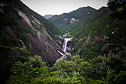 Japan, Yakushima - Senpiro falls, one off the numerous falls