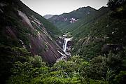 Japan, Yakushima - Senpiro falls, one off the numerous falls