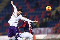 Davide Astori Fiorentina, Mattia Destro Bologna <br /> Bologna 06-02-2016 Stadio Dall'Ara Football Calcio Serie A 2015/2016 Bologna - Fiorentina  .<br /> Foto Image Sport/Insidefoto <br /> <br /> Fiorentina captain Davide Astori dies suddenly aged 31 . <br /> Astori was staying a hotel with his team-mates ahead of their game on Sunday away at Udinese when he passed away. <br /> Foto Insidefoto