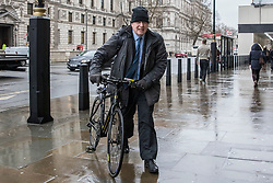 © Licensed to London News Pictures. 04/02/2019. London, UK. Former Foreign Secretary Boris Johnson seen in Westminster. Photo credit: Rob Pinney/LNP
