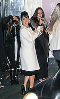 LONDON - NOVEMBER 27: Salma Hayek attended the British Fashion Awards 2012 at The Savoy Hotel, London, UK. (Photo by Richard Goldschmidt)