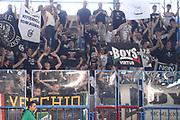 DESCRIZIONE : Cremona Lega A 2014-2015 Vanoli Cremona Granarolo Virtus Bologna<br /> GIOCATORE : Tifosi Supporters<br /> SQUADRA : Granarolo Virtus Bologna<br /> EVENTO : Campionato Lega A 2014-2015<br /> GARA : Vanoli Cremona Granarolo Virtus Bologna<br /> DATA : 12/04/2015<br /> CATEGORIA : Tifosi Supporters<br /> SPORT : Pallacanestro<br /> AUTORE : Agenzia Ciamillo-Castoria/F.Zovadelli<br /> GALLERIA : Lega Basket A 2014-2015<br /> FOTONOTIZIA : Cremona Campionato Italiano Lega A 2014-15 Vanoli Cremona  Granarolo Virtus Bologna<br /> PREDEFINITA : <br /> F Zovadelli/Ciamillo
