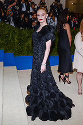 Kate Bosworth arriving at The Metropolitan Museum of Art Costume Institute Benefit celebrating the opening of Rei Kawakubo / Comme des Garcons : Art of the In-Between held at The Metropolitan Museum of Art  in New York, NY, on May 1, 2017. (Photo by Anthony Behar) *** Please Use Credit from Credit Field ***