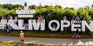 11-09-2016 Foto's van het KLM Open 2016, gehouden op The Dutch in Spijk van 8 t/m 11 september.    <br /> Foto: KLM Open sign
