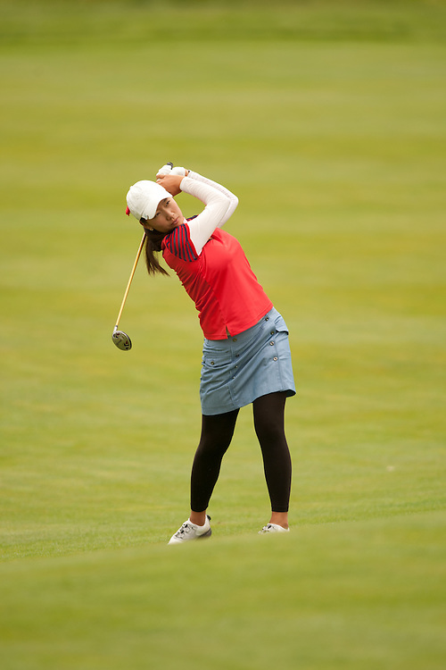 GLADSTONE, NJ - MAY 20: Chella Choi plays a shot during the second round of the 2011 Sybase Match Play Championship at Hamilton Farm Golf Club in Gladstone, New Jersey on May 20, 2011. (photograph ©2011 Darren Carroll) *** Local Caption *** Chela Choi