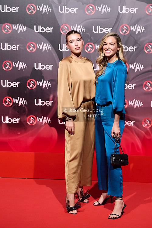 Alba Diaz attends 'Wah' Musical Show World Premiere Red Carpet at IFEMA on October 7, 2021 in Madrid, Spain