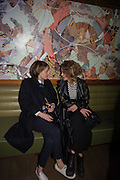 ALEXANDRA KNATCHBULL; SUSSY CAZALET, The Brown's Hotel Summer Party hosted by Sir Rocco Forte and Olga Polizzi, Brown's Hotel. Albermarle St. London. 14 May 2015