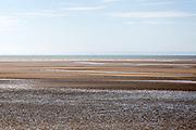 Beach at low tide, Swansea Bay, Swansea, South Wales, West Glamorgan, UK