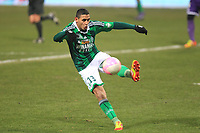 FOOTBALL - FRENCH CHAMPIONSHIP 2011/2012 - L1 - TOULOUSE FC v AS SAINT ETIENNE - 12/02/2012 - PHOTO MANUEL BLONDEAU / DPPI - FAOUZI GHOULAM