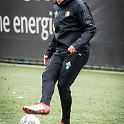 NLD/Rotterdam/20180301 - Training Feyenoord voor de bekerfinale, Sam Larsson