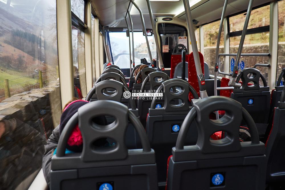 Aberystwyth to Bangor bus Wales
