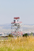 Israel, Ben-Gurion international Airport Air Control radar tower