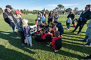 Under 9's - Community junior football at Metro Football Club in Mt Albert, Auckland, New Zealand on Saturday 20th June 2020.<br /> Copyright photo: www.photosport.nz