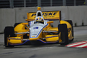 31 August - 2 September, 2012, Baltimore, Maryland USA.Helio Castroneves (3) .(c)2012, Jamey Price.LAT Photo USA