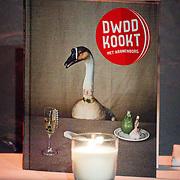NLD/Amsterdam/20151202 - Opening DWDD Pop up restaurant en kookboek presentatie Koken met Kranenborg,