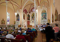 Inside the Immaculata Church