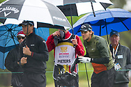 Thomas Detry (BEL) and Thomas Pieters (BEL) during the second day of the World cup of Golf, The Metropolitan Golf Club, The Metropolitan Golf Club, Victoria, Australia. 23/11/2018<br /> Picture: Golffile | Anthony Powter<br /> <br /> <br /> All photo usage must carry mandatory copyright credit (© Golffile | Anthony Powter)