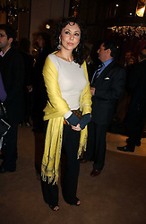 Model MARIE HELVIN at a Christmas party to celebrate the 225th Anniversary of Asprey held at their store 167 New Bond Street, London on 7th December 2006.<br /><br />NON EXCLUSIVE - WORLD RIGHTS