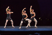 Three dancers from Les Ballets Trockadero de Monte Carlo cut loose.
