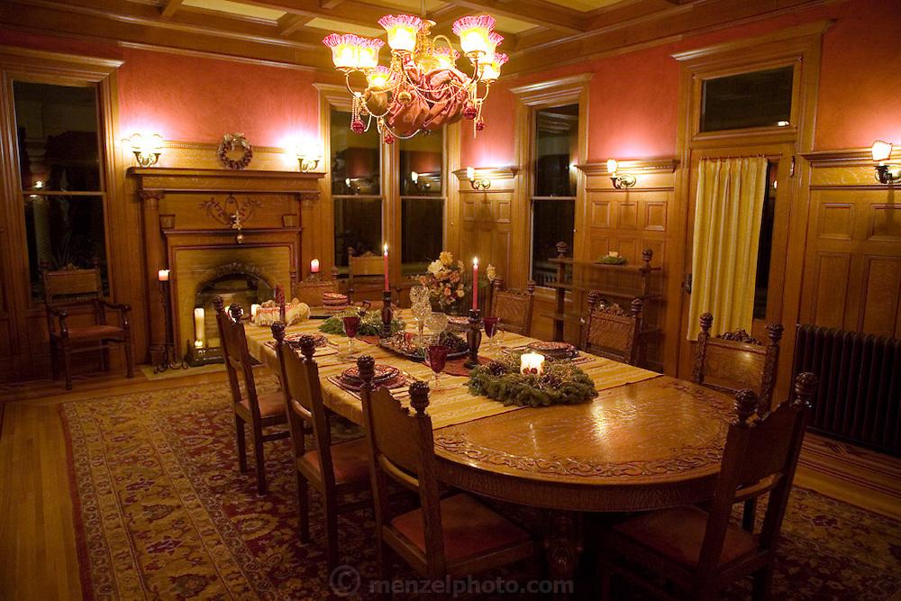 Daryl Sattui and wife Yana Albert's Victorian house in Calistoga, California, Napa Valley, California.