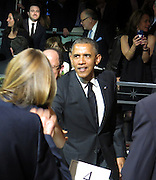 Celebrities at the USC Shoah Foundation's 20th Anniversary Gala at the Hyatt Regency Century Plaza in LA.<br /><br />Pictured: President Barack Obama<br />Ref: SPL750371  070514  <br />Picture by: Splash News<br /><br />Splash News and Pictures<br />Los Angeles:310-821-2666<br />New York:212-619-2666<br />London:870-934-2666<br />photodesk@splashnews.com