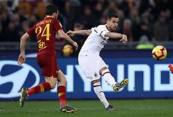 February 3, 2019 - Rome, Italy - AS Roma v AC Milan - Serie A.Suso of Milan at Olimpico Stadium in Rome, Italy on February 3, 2018. (Credit Image: © Matteo Ciambelli/NurPhoto via ZUMA Press)
