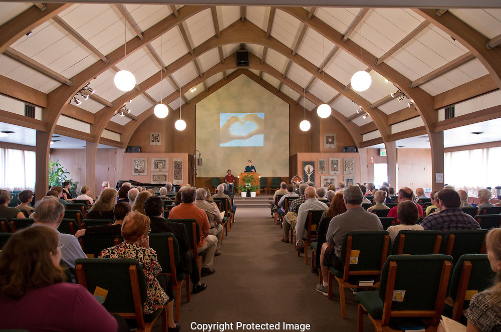 Tahoma Unitarian-Universalist Congregation in Tacoma, WA on Sunday, Aug. 23, 2015. (Photo/John Froschauer)