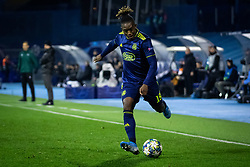 Jaques François Moubandje of Dinamo Zagreb  during football match between GNK Dinamo Zagreb and Manchester City in 6th Round of UEFA Champions league 2019/20, on December 11, 2019 in Maksimir, Zagreb, Croatia. Photo by Blaž Weindorfer / Sportida