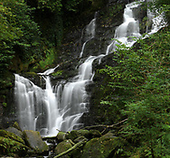 Torc Waterfall is among the most spectacular in Ireland.