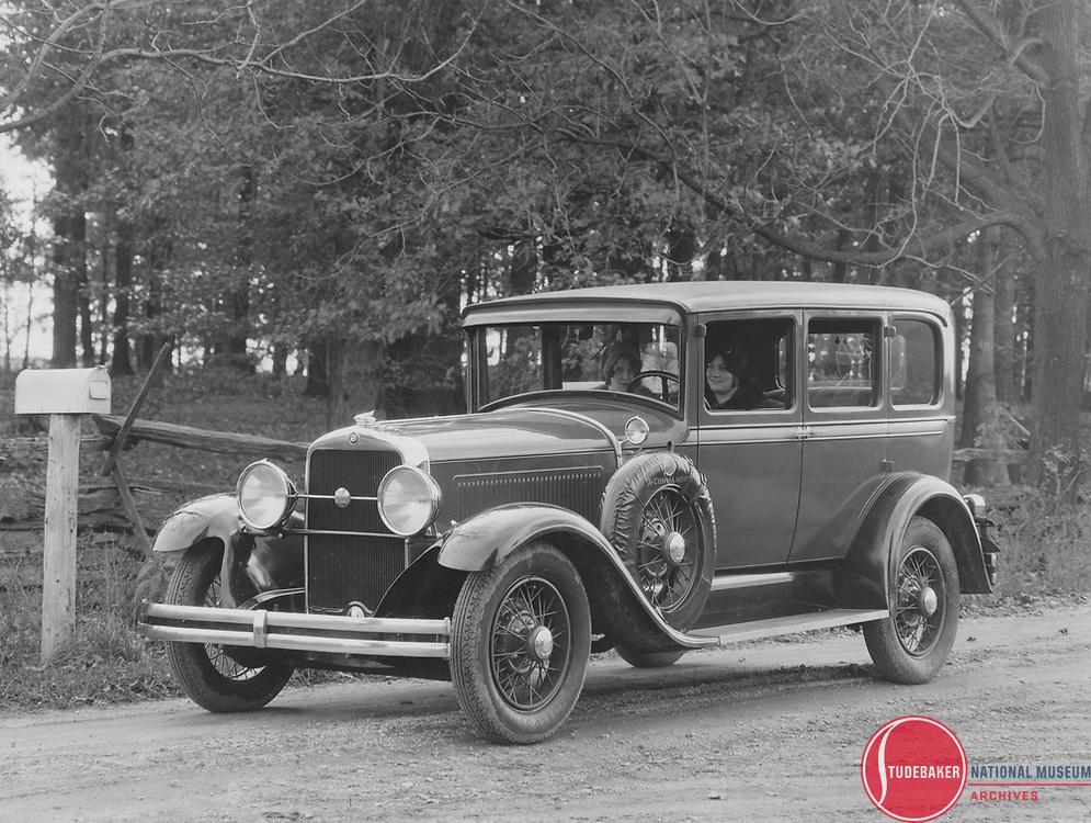 A 1929 Studebaker Commander FD Regal sedan.