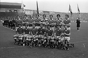 05/09/1982<br /> 09/05/1982<br /> 5 September 1982<br /> All-Ireland Hurling Final: Cork v Kilkenny at Croke Park, Dublin. <br /> The Cork team.