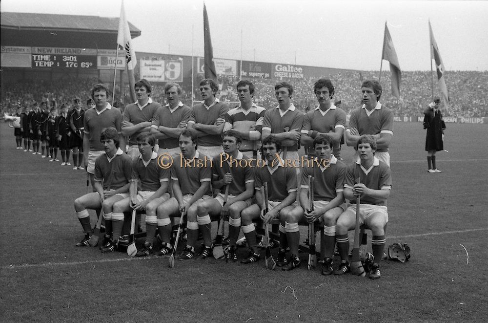 05/09/1982<br /> 09/05/1982<br /> 5 September 1982<br /> All-Ireland Hurling Final: Cork v Kilkenny at Croke Park, Dublin. <br /> The Cork team.
