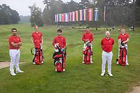 HILVERSUM -  TEAM SWITSERLAND / ZWITSERLAND. ELTK Golf  2020.  The Dutch Golf Federation (NGF), The European Golf Federation (EGA) and the Hilversumsche Golf Club will organize Team European Championships for men.  COPYRIGHT KOEN SUYK