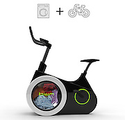 "Bike Doubles as Washing Machine to Clean Your Clothes as You Exercise<br /> <br /> For anyone that loathes laundry but loves biking, the design students at Dalian Nationalities University in China have a compromise to make the chore more enjoyable. Their creation, aptly-called the Bike Washing Machine (or BiWa for short), combines the two activities into one stationary device. A washing machine drum is ingeniously integrated into the wheel of a bike that cleans your clothes as you pedal.<br /> <br /> According to the students who created BiWa, the way it works is simple. ""When you ride this bike, the pedaling motion causes the drum of the washing machine to rotate,"" they write on Tuvie. At the same time, the extra electricity generated can be used to power the display screen or stored for future rides.<br /> ©Exclusivepix Media"