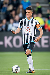 Joey Pelupessy of Heracles Almelo during the Dutch Eredivisie match between Heracles Almelo and Feyenoord Rotterdam at Polman stadium on September 09, 2017 in Almelo, The Netherlands