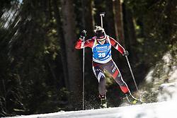 Baiba Bendika (LAT) during the Women 15 km Individual Competition at day 2 of IBU Biathlon World Cup 2019/20 Pokljuka, on January 23, 2020 in Rudno polje, Pokljuka, Pokljuka, Slovenia. Photo by Peter Podobnik / Sportida