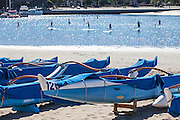 Stand Up Paddle at the Marina in Marina Del Rey