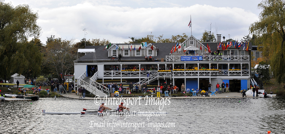 Cambridge, USA,    USA M2X Graves Brothers, during the  [HOCR]  Head on the Charles River, Cambridge/Boston, Massachusetts[Mandatory Credit Karon PHILLIPS/Intersport Images]